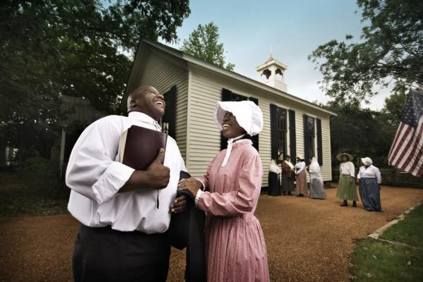 Old Alabama Town - Church